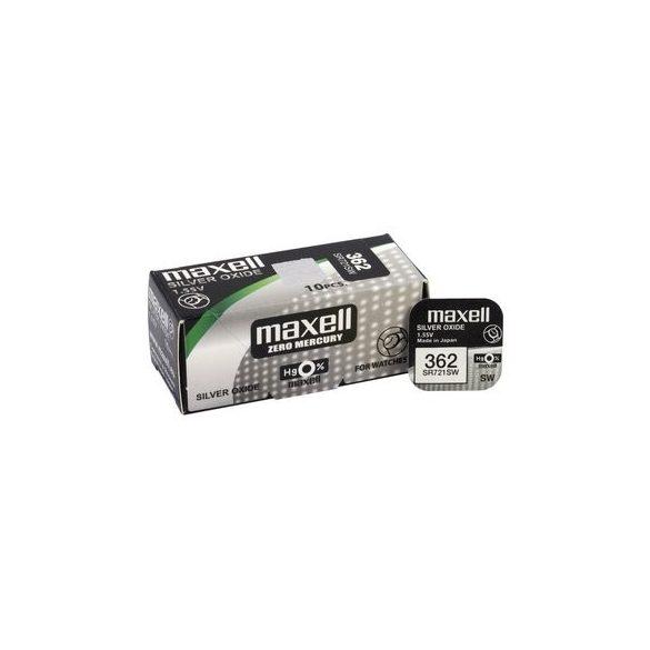 Maxell 362,361 ezüst oxid gombelem (SR721,1158) 1,55V