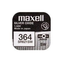 Maxell 364 ezüst oxid gombelem (SR621,1175)