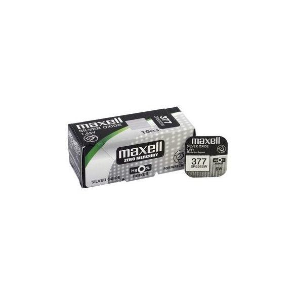Maxell 377,376 ezüst oxid gombelem (SR626,1176)