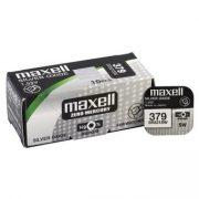 Maxell 379 ezüst oxid gombelem (SR521,SR63,1191)1,55V