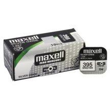 Maxell 395,399 ezüst oxid gombelem (SR57,1162,SR927, SR9275W,) 1,55V