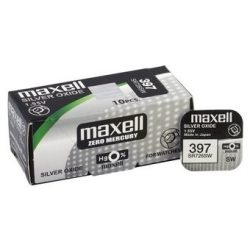 Maxell 397,396 ezüst oxid gombelem (SR59,1164,SR726) 1,55V