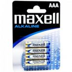 Maxell mikro AAA (LR03) alkáli elem bl/4