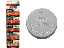 Maxell LR44 (AG13,A76) alkáli gombelem  1,5V bl/10