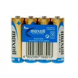 Maxell ceruza AA (LR6) alkáli elem fólia/4