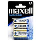 Maxell ceruza AA (LR6) alkáli elem bl/4