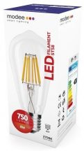 MODEE LED FILAMENT ST58 8W E27 360° 2700K (750 LUMEN)