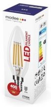MODEE LED FILAMENT CANDLE C35 4W E14 360° 2700K (400 LUMEN)