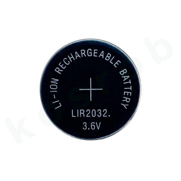 OEM LIR2032 3,6V-os Li-ion akku 45mAh