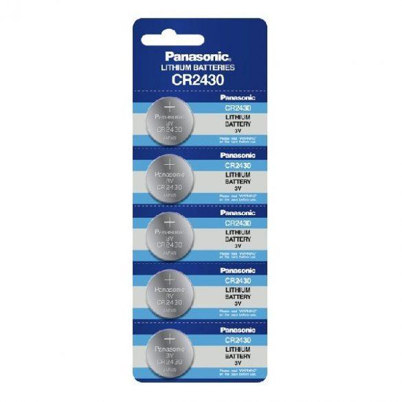 Panasonic CR2430 lithium elem 3V bl/1