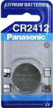 3V Panasonic lithium elem CR2412 3V bl/1
