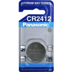 Panasonic CR2412 lithium elem 3V bl/1