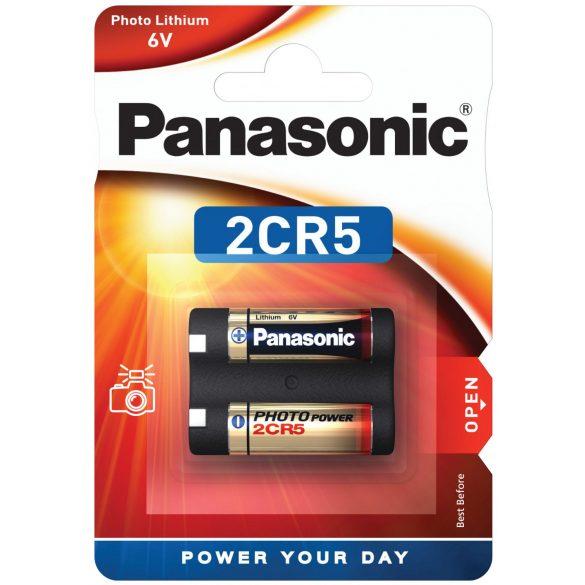 Panasonic Foto lithium elem 2CR5 (CR245) 6V BL/1