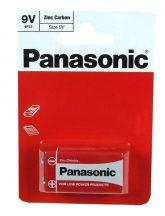 Panasonic Zinc féltartós elem 9V (6F22)bl/1