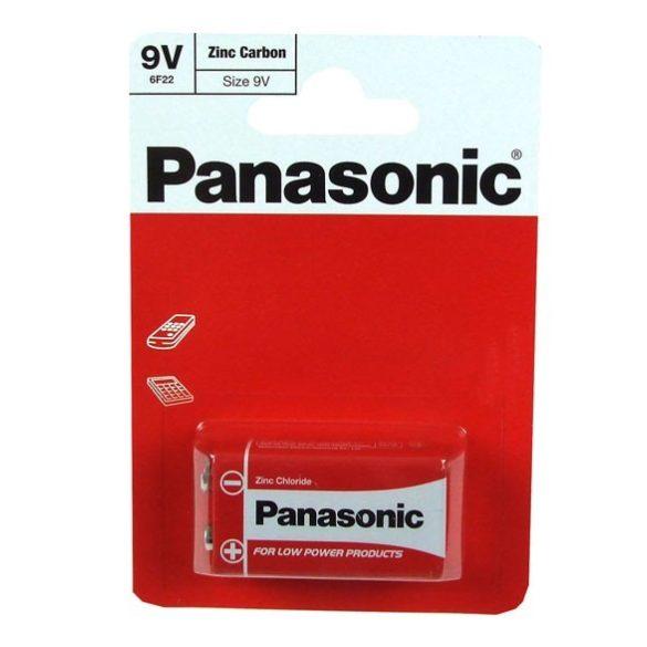Panasonic RED féltartós elem 9V (6F22)bl/1