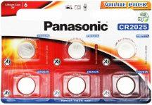 3V Panasonic lithium elem CR2025 bl/6