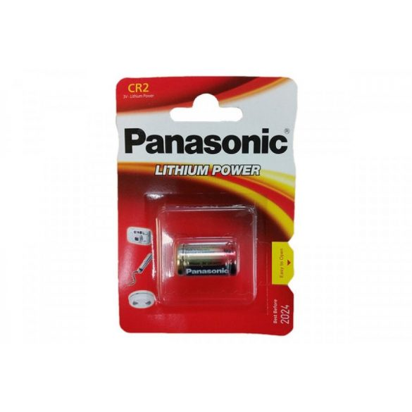 Panasonic CR2 lithium elem 3V bl/1