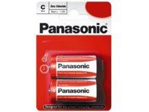 Panasonic Zinc féltartós elem baby C (R14)bl/2