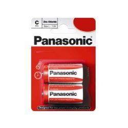 Panasonic RED féltartós elem baby C (R14)bl/2