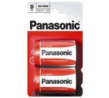 Panasonic Zinc féltartós elem góliát D (R20)bl/2