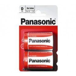 Panasonic RED féltartós elem góliát D (R20)bl/2