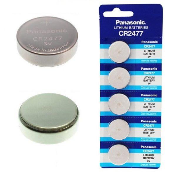 Panasonic CR2477 lithium elem 3V bl/5