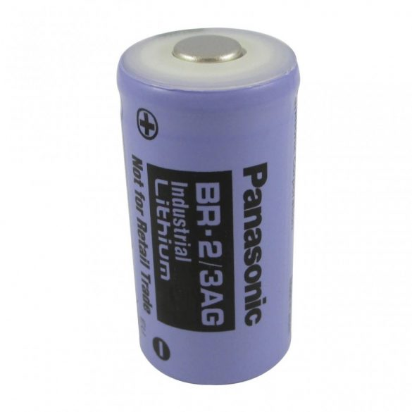 Panasonic BR 2/3A G 3V lithium elem (34x17mm) 1450mAh