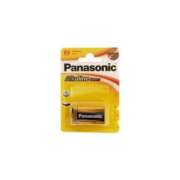 Panasonic ALKALINE Power 9V-os alkáli elem 6LR61 bl/1