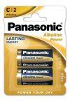 Panasonic ALKALINE(Bronze) Power baby elem LR14,C, BL/2