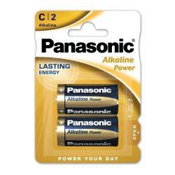 Panasonic ALKALINE Power baby elem LR14,C, BL/2