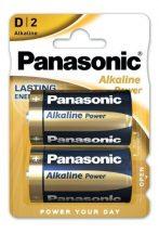 Panasonic ALKALINE(Bronze)Power góliát elem D LR20 Bl/2