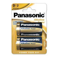 Panasonic ALKALINE Power góliát elem D LR20 Bl/2