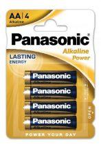 Panasonic ALKALINE Power ceruza elem AA,LR6, bl/4