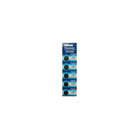 Panasonic CR1620 lithium elem 3V bl/5