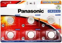 3V Panasonic lithium elem CR2032 bl/6
