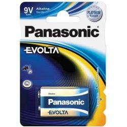 Panasonic Evolta 9V-os alkáli elem 6LR61 bl/1
