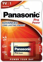 Panasonic Pro Power 9V-os alkáli elem 6LR61 bl/1