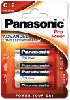 Panasonic Pro Power LR14,C, alkáli baby elem BL/2