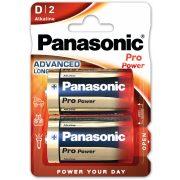 Panasonic Pro Power LR20,D,alkáli góliát elem bl/2