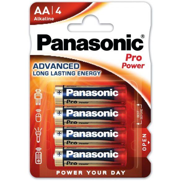 Panasonic Pro Power LR6,AA alkáli ceruza elem bl/4