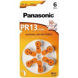 """Panasonic PR48 """"13"""" hallókészülék elem BL/6"""
