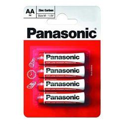 Panasonic RED féltartós elem ceruza AA (R6)bl/4