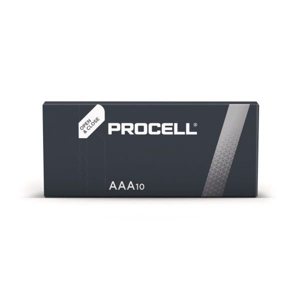 Duracell Procell (volt Industrial) PC2400 (AAA) mikro ipari elem dobozos/10 1,5V