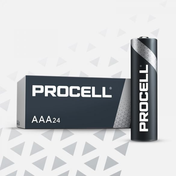 Duracell Procell PC2400 (AAA) mikro ipari elem dobozos/10 1,5V