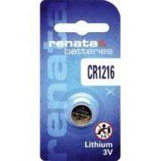 Renata CR1216 3V-os lithium elem bl/1