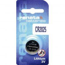 Renata CR2025 3V-os lithium elem bl/1