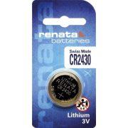Renata CR2430 3V-os lithium elem bl/1