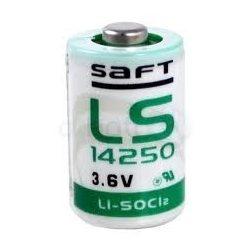 SAFT lithium elem 3,6V 1/2 AA (1/2 ceruza) LS14250
