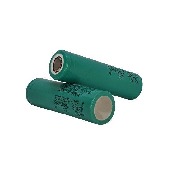 SAMSUNG INR18650-20R Li-ion 3,7V  ipari akku 2000 mAh 20A