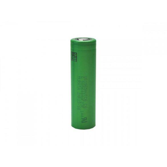 SONY/MURATA 18650VTC6 Li-ion ipari akku, 3,7V, 3000 mAh 20A